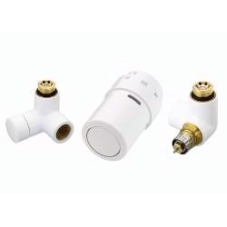 Kit tête thermostatique blanc montage tête à droite de marque DANFOSS , référence: B639300
