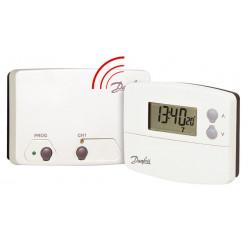 Thermostat programmable sans fil TP 5001 RF + récepteur RX1 de marque DANFOSS , référence: B640700