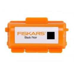 Encre noire roulette à tampon continu de marque FISKARS, référence: B670300