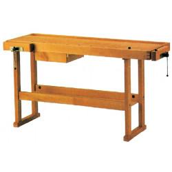 Etabli bois 1,50 m + tiroir de marque OUTIFRANCE , référence: B674000