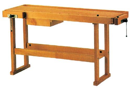 Etabli bois 1,50 m + tiroir