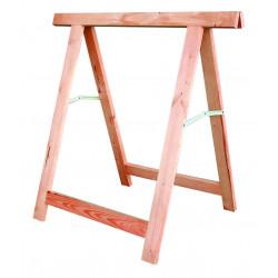 Tréteau bois dur artisan 80x80cm de marque OUTIFRANCE , référence: B675400