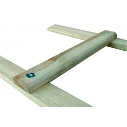 Echelle bois de toit 2,00 m de marque OUTIFRANCE , référence: B676900