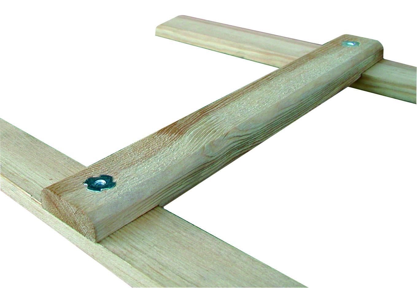 Echelle bois de toit 2,00 m