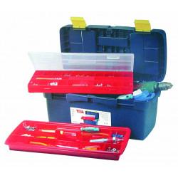 Boite à outils avec baladeur et organiseur de marque OUTIFRANCE , référence: B680700