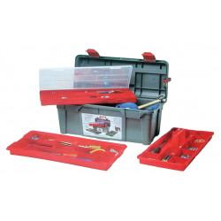 Boite à outils avec 2 baladeurs et un organiseur de marque OUTIFRANCE , référence: B680800