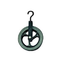 Poulie de puits à crochet d.18cm de marque OUTIFRANCE , référence: B684900