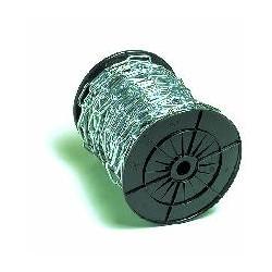 Chaîne droite soudée zinguée 2,5 mm x 25 m de marque OUTIFRANCE , référence: B685000