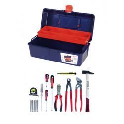 Caisse à outils 11 pièces de marque OUTIFRANCE , référence: B726000