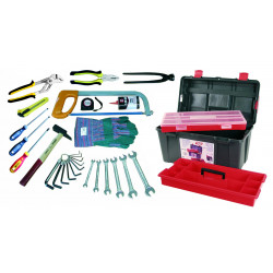 Caisse à outils 29 pièces de marque OUTIFRANCE , référence: B726300