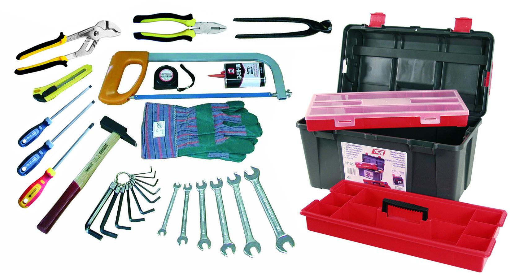 Caisse à outils 29 pièces