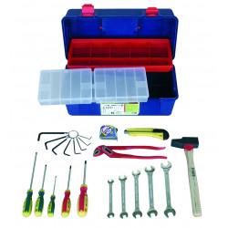 Caisse à outils 22 pièces de marque OUTIFRANCE , référence: B726600