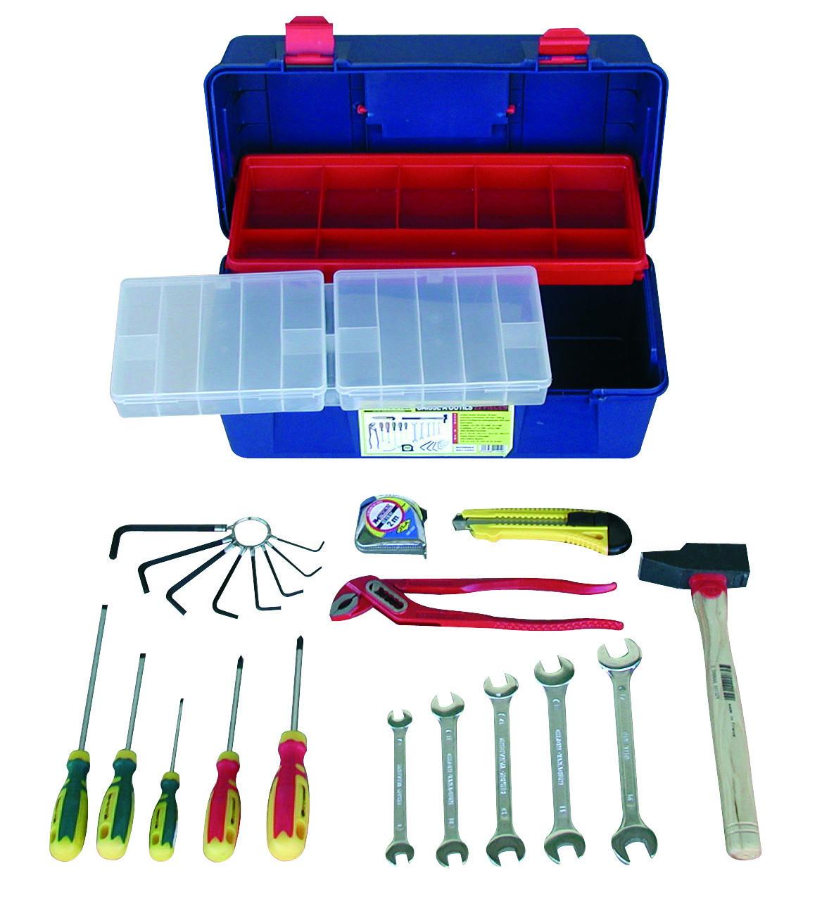 Caisse à outils 22 pièces