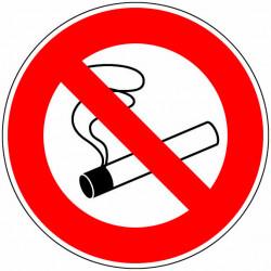 """Panneau signalisation """"Défense de fumer"""" de marque OUTIFRANCE , référence: B733100"""