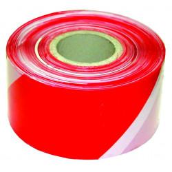 Ruban signalisation blanc/rouge 100m de marque OUTIFRANCE , référence: B734300