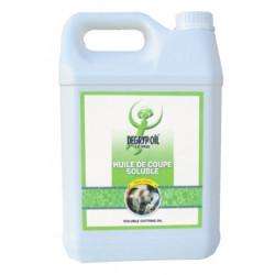 Huile de coupe soluble 5L de marque DEGRYP OIL, référence: B739000