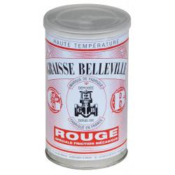 Graisse belleville rouge friction mécanique 700g de marque GRAISSE BELLEVILLE, référence: B739100