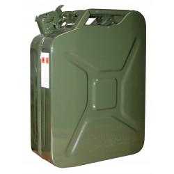 Jerrican tôle intérieur laqué 20 litres de marque OUTIFRANCE , référence: B739700