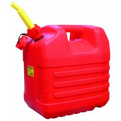 Jerrican plastique hydrocarbure bec verseur 20L de marque OUTIFRANCE , référence: B740100