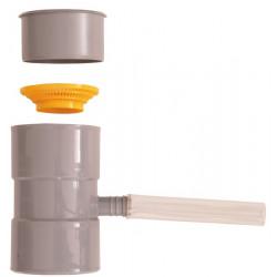Collecteur de gouttière gris de marque BOUTTE, référence: J755700