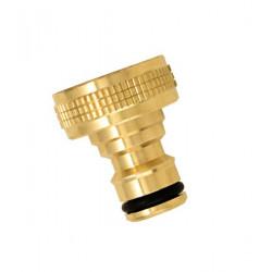 Nez de robinet femelle 20x27 en laiton de marque BOUTTE, référence: J757600