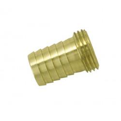 Raccord mâle 20x27 pour tuyau Ø19 de marque BOUTTE, référence: J763000