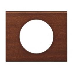 Celiane plaque 1 poste acajou de marque LEGRAND, référence: B824300