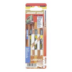 3 lames scie sauteuse pour laminés -30 de marque KWB, référence: B888300