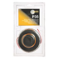 Tête de rechange de débroussailleuse HDO002 - 3 mm x 5 m de marque McCULLOCH, référence: J930700
