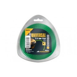 Fil nylon rond de débroussailleuse NLO016 2mm x 130 m Anti-Bruit de marque McCULLOCH, référence: J1031600