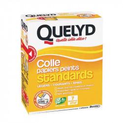 Colle papier peint standard+ 250g de marque Quelyd, référence: B2387600