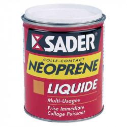 Colle néoprène liquide 750 ml de marque Sader, référence: B2432800