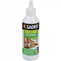 Colle Polyuréthane bois extérieur 250 g de marque Sader, référence: B2436000