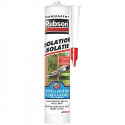 Mastic isolation translucide 280 ml de marque RUBSON, référence: B2444600