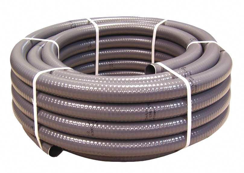 Couronne PVC semi-rigide à coller Ø50mm , 25m
