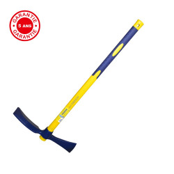 Pioche hache 2,5 kg manche composite, manche incassable en fibre de verre de marque PERRIN  , référence: B3826400