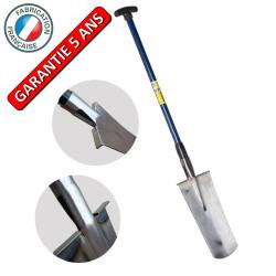 Louchet d'arrachage 38cm manche composite béquille outil professionnel pour pépiniériste de marque PERRIN  , référence: J3834600