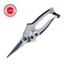 Sécateur alu lame droite , ergonomique et léger, coupe franche, taillant de qualité de marque PERRIN  , référence: J3870400