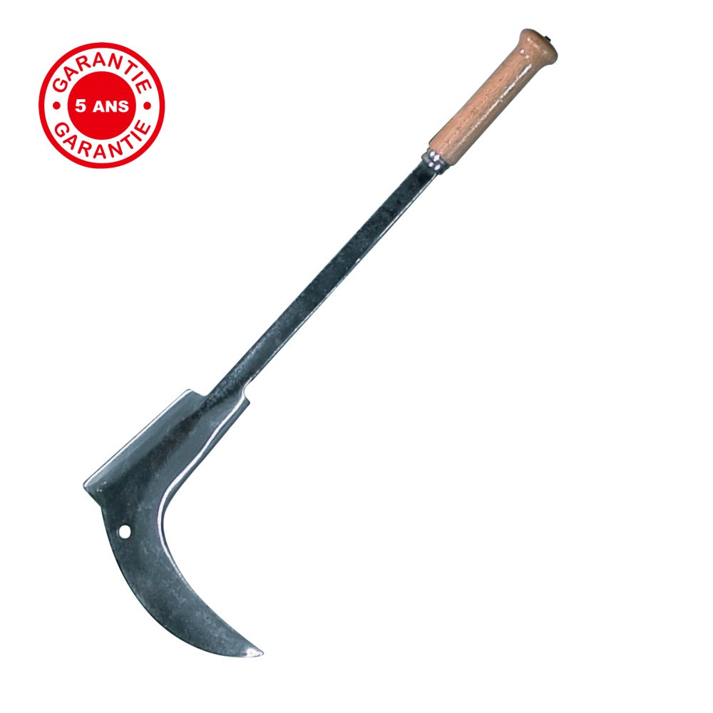 Coupe ronces de 44 cm, manche bois, qualité professionnelle