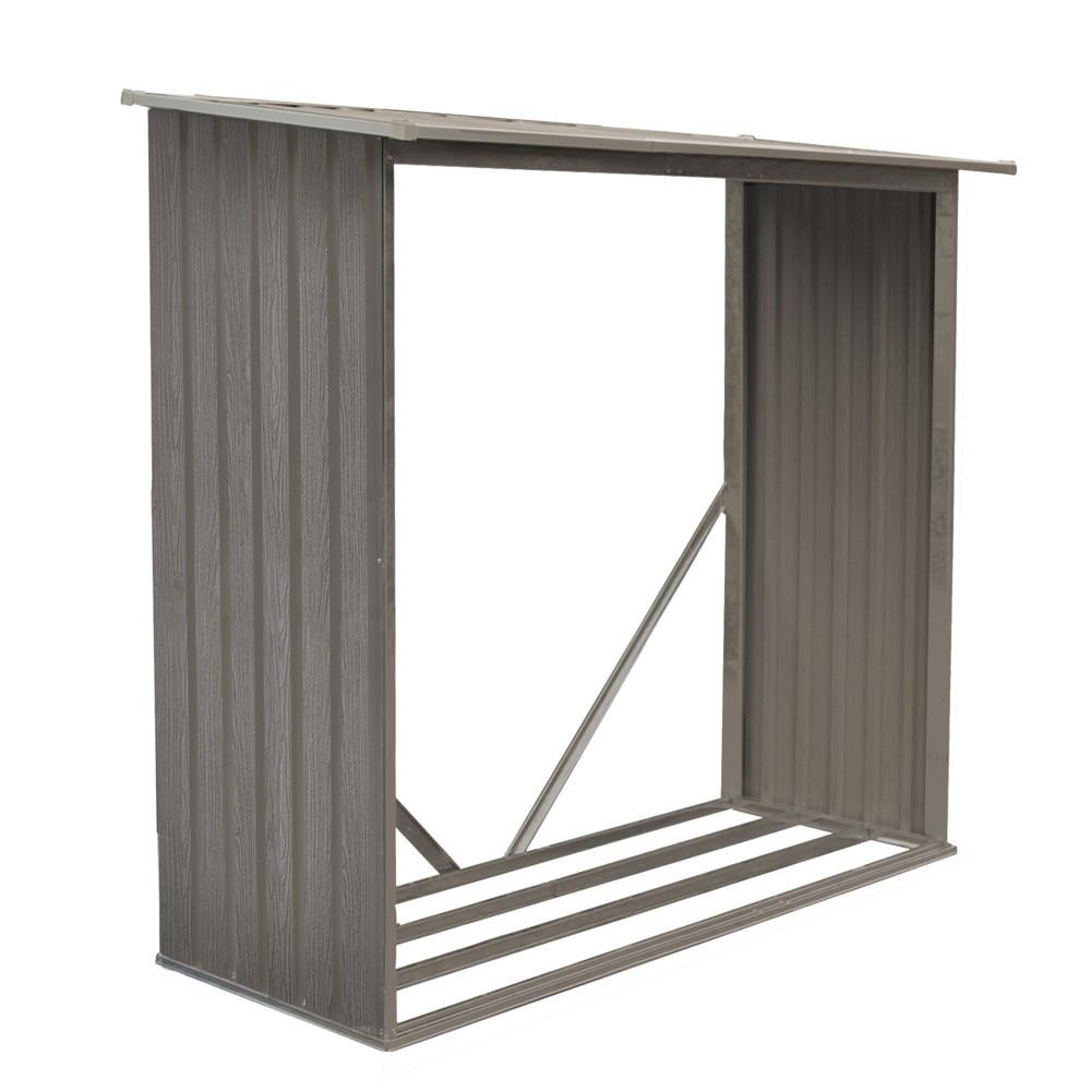 Bûcher métal gris - 1,37 m2