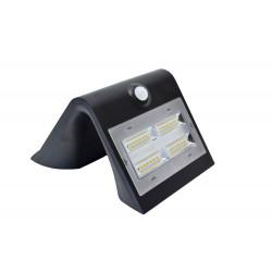 Lampe solaire murale 400lm - Noir de marque CHALET & JARDIN, référence: J5011100