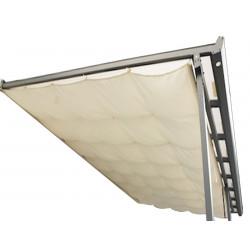 Rideau d'ombrage pour toit terasse 2,85 x 3,05 m - 8,69 m2 de marque HABRITA, référence: J5013000
