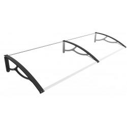 Double marquise de porte ou fenêtre - 3mm de marque HABRITA, référence: J5018400