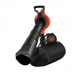 GW3031BP-QS Aspirateur, Souffleur, Broyeur de feuilles filaire - 3000 W  - Capacité : 70 L - 3 embouts de marque Black+Decker, référence: J5036900