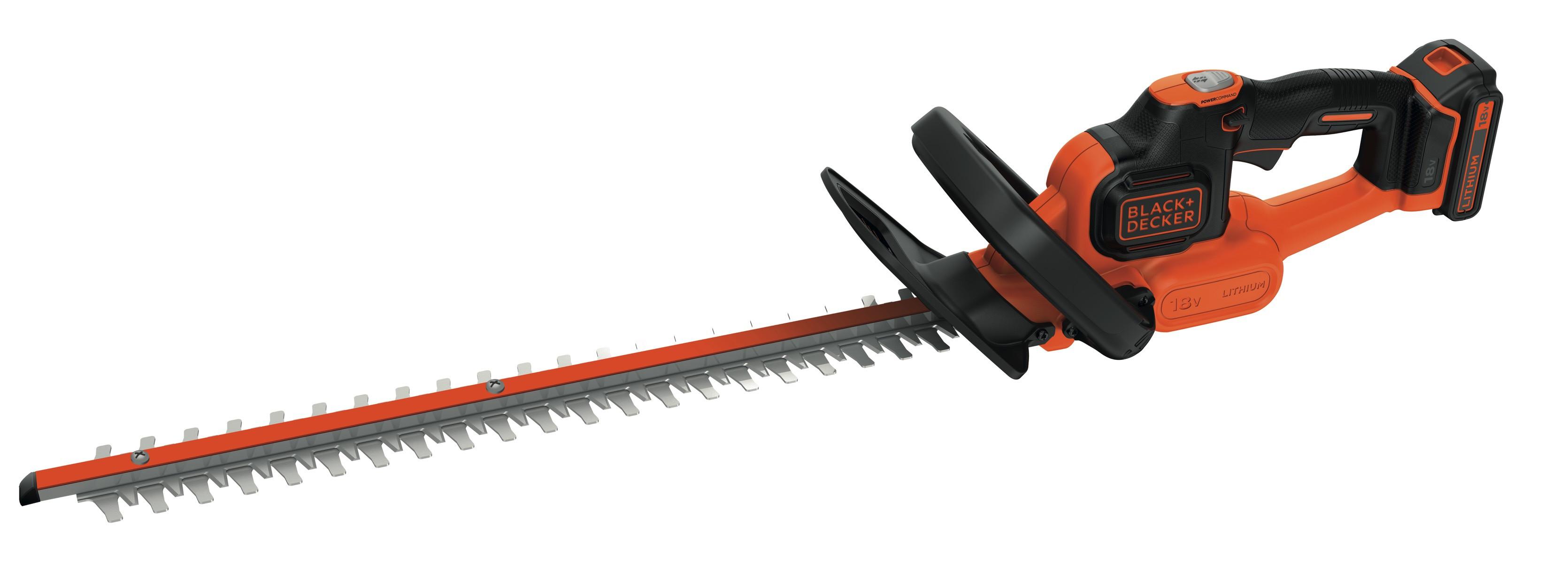 GTC18452PC-QW Taille-haies sans fil - 45 cm - 18 V - 2 Ah - Ecartement : 18 mm - Technologie anti-blocage de lame