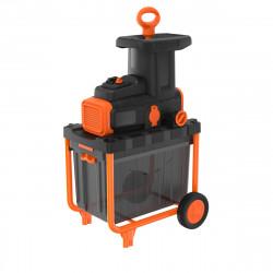 BEGAS5800-QS Broyeur de végétaux filaire - 2800 W - Capacité de broyage : 45 mm - Bac collecteur de 45 L de marque Black+Decker, référence: J5039800