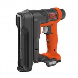 BDCT12N-XJ Agrafeuse-Cloueuse sans fil - 12 V - Chargeur de 80 agrafes - Sans batterie - 100 agrafes 14mm de marque Black+Decker, référence: B5042100