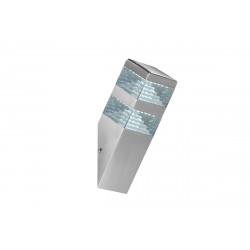 Applique pyramide alu - 900 lumens - Blanc 4000K de marque LUMIHOME , référence: J5064500