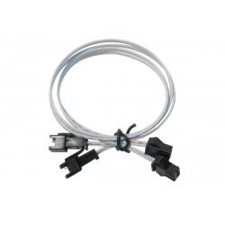 Lot de 2 câbles de 40 cm pour strip LED 12/24V de marque LUMIHOME , référence: B5067900