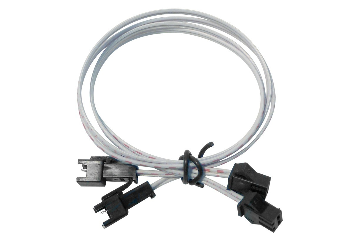 Lot de 2 câbles de 40 cm pour strip LED 12/24V